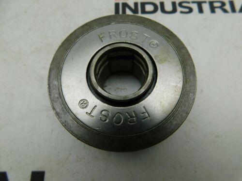 "Frost Conveyor Roller 0973600, Nitrile Sealed, Tread Diameter: 2.268"", Flange Di"