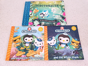 Octonauts books Doubleview Stirling Area Preview