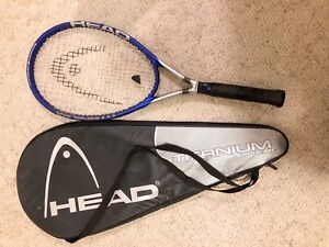 HEAD Ti S1 supreme tennis racket with case and balls