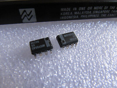 Ds8629n National Semiconductor 120 Mhz Divide By 100 Prescaler 8-pin Dip 2 Piece