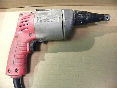 Milwaukee Drywall Screw Gun --screw Shooter Model 6753-1 -- Double Insulated