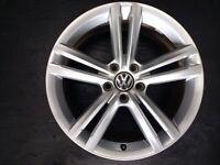 WHEELWORLD wh18 8x18 5x112 et35 RS racesilber VW EOS Passat cc Sharan Tiguan