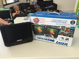 Portable car DVD player Golden Grove Tea Tree Gully Area Preview