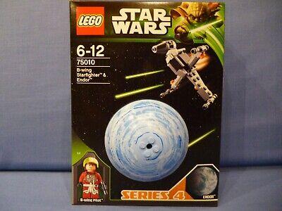 NEW Sealed Lego Star Wars *75010* B-WING STARFIGHTER & ENDOR..