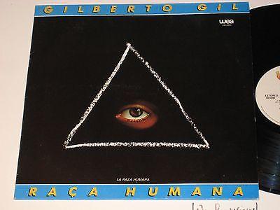 Gilberto Gil   Raca Humana  Lwi 6395 Wea Mexican Press