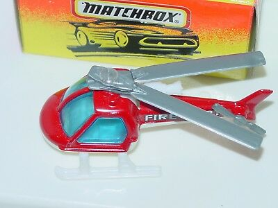 MATCHBOX  YELLOW BOX #60 HELICOPTER