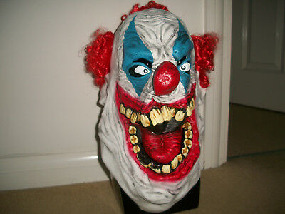 Horror HAlloween latex fat laughing clown mask (Fat Halloween Masks)
