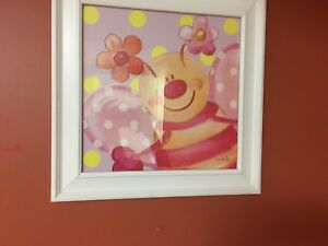 Two butterfly pics for girls room or bursery