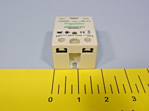 Schneider Electric 6240AXXSZS-DC3 Solid State Relay; 40A; 3 - 32VDC; 24 - 280VAC