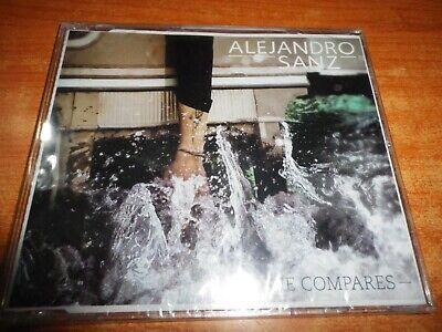 ALEJANDRO SANZ NO ME COMPARES CD SINGLE ESPAÑOL 2012 MUY RARO PRECINTADO