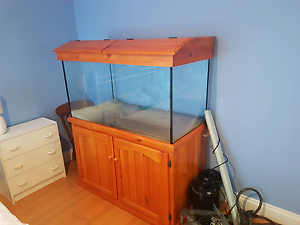 4x2x2 aquarium with cabinet, hood and a whole heap of accessories Attadale Melville Area Preview