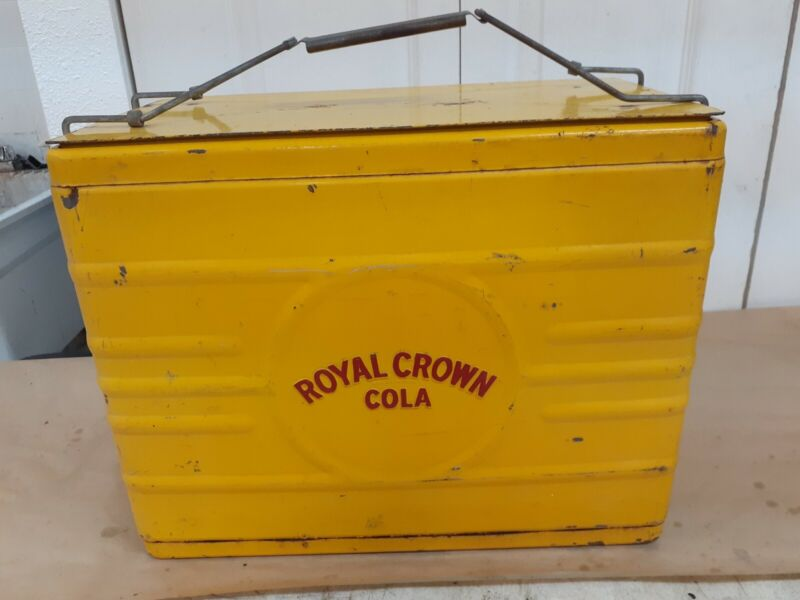 Old royal crown cooler great condition
