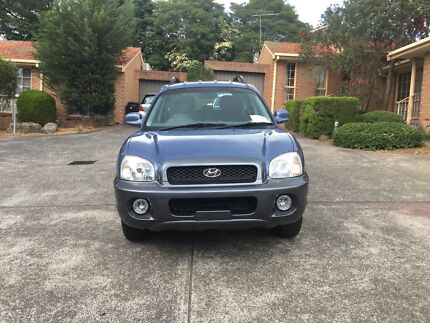 Hyundai Santa Fe 2001 with RWC Templestowe Manningham Area Preview