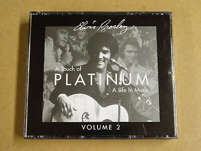 2-CD BOX / ELVIS PRESLEY - A TOUCH OF PLATINUM - A LIFE IN MUSIC - VOLUME 2