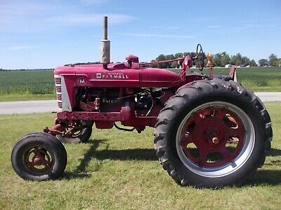 Farmall M Ih Wide Frontend Tractor Live Hydraulics Power Steering Pto Disk Brake