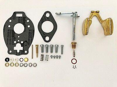 Allis Chalmers B C Tsx154 Marvel Schebler Tractor Carburetor Kit W Float
