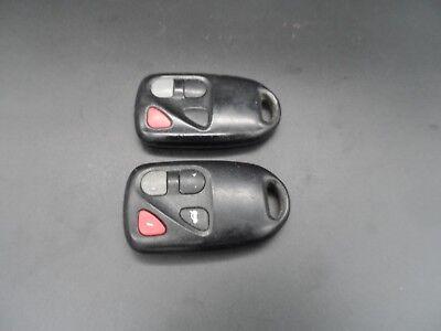 1  PAIR OF 2003 2004 2005 Mazda 6 Keyless Entry Remote Key Fob Transmitters