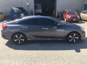 2016 Honda Civic Touring Sedan, Leather Snow Tires, Nav
