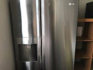 LG 659L Stainless Steel Side By Side Fridge (GC-L247ENSL) Mascot Rockdale Area Preview