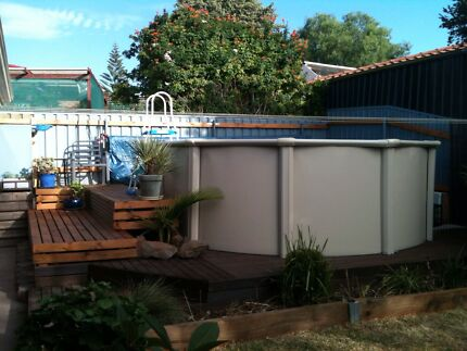 Above ground swimming pool Hallett Cove Marion Area Preview