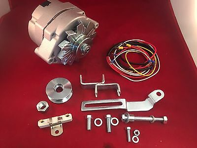 New Alternator Conversion Kit For Massey Ferguson Mf Tractor To20 6 To 12 Volt