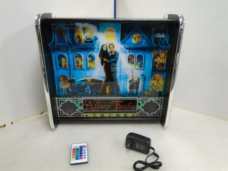 Bally Addams Family Pinball Head LED Display light box