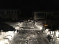 Snow removal at reasonable prices