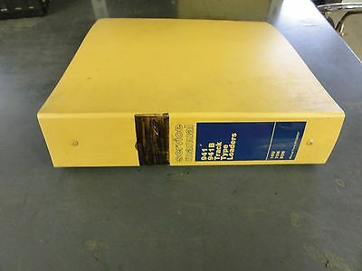 Caterpillar 941 941b Track Type Loader Service Manual