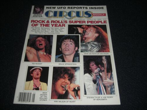 Queen Poster  Rock and Roll Super People of the Year Circus Magazine Jan. 9,1979