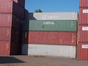 SHIPPING CONTAINERS 40FT WIND,WATER,VERMIN TIGHT Brisbane Region Preview
