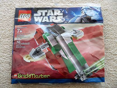 Lego Star Wars Brickmaster   10X Boba Fett Slave I 20019   New   Sealed