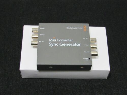 Blackmagic Design Mini Converter Sync Generator with 6 Outputs + Power Supply