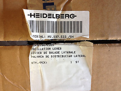 Heidelberg Sm 102 Cd 102 Part Mv.037.5334 Complete Oscillation Lever