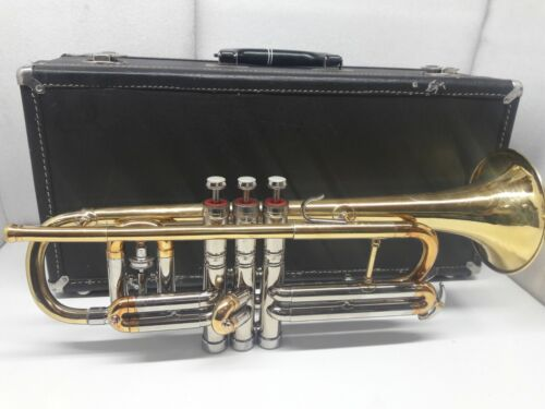 1959 C.G CONN VICTOR CORNET WITH CASE.