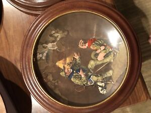 Norman Rockwell plate-the old scout