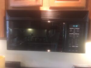 Over the range Kitchen Aid microwave