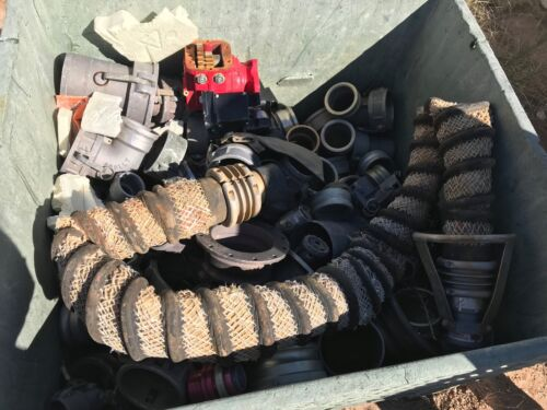 Bin Full of miscellaneous Fittings EVER-TITE SCULLY ANDREWS MBC