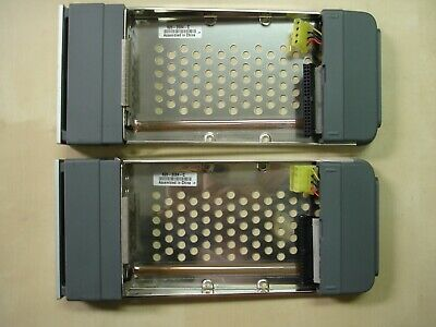 "Lot of 2 X Apple 620-3084-C 3.5"" Xserve Raid IDE ATA RAID Hard Drive Caddy Tray"