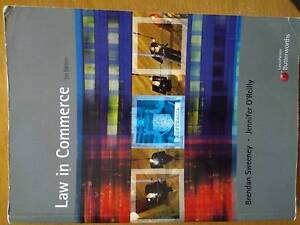 Law in Commerce 3rd edition Sandy Bay Hobart City Preview