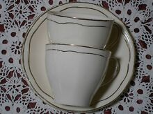 ALFRED MEAKIN ENGLAND 2 TEACUPS & SAUCERS Kambah Tuggeranong Preview