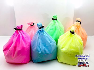 Neon Glow Uv Blacklight Paint Powder  Makes 10Gal Special Fx Rave Party Usa Wow