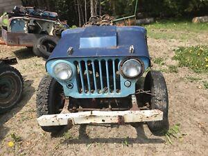 Willys Jeep cj2a m38