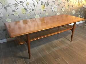 Mid Century Retro Vintage Parker Coffee Table Pagewood Botany Bay Area Preview
