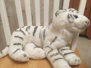 White Tiger Plushy