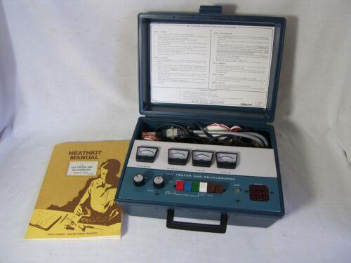 Original Heathkit CRT Tester & Rejuvenator Model IT-5230 With Manuals + Adapters