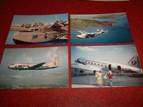 70 POSTCARDS LOT  -  AIRLINES China Clipper EASTERN National PAN AMERICAN United