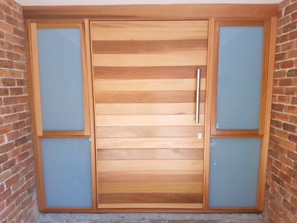 Entry doors - custom made joinery - solid timber doors