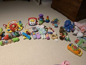 New/ gently used baby toys
