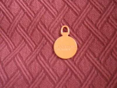 L'Occitane en Provence Metal Riviere Lanyard Keychain Dangle Ornament NEW!