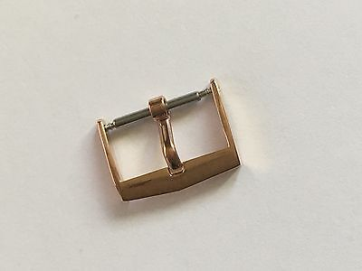 VINTAGE BUCKLE IN ROSE GOLD FOR PATEK PHILIPPE 16mm.
